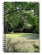 Magnolia Plantation Bridge Spiral Notebook