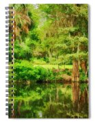 Magnolia Plantation Gardens Spiral Notebook