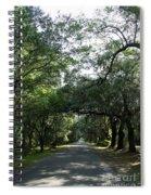 Magnolia Plantation Road Spiral Notebook