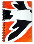 Magpie Original Painting Sold Spiral Notebook
