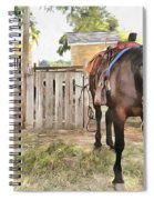 Mahaffie Stagecoach Stop And Farm Spiral Notebook
