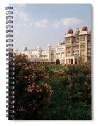 Maharaja's Palace And Garden India Mysore Spiral Notebook
