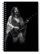 Mahogany Rush Seattle #1 Enhanced Bw Spiral Notebook