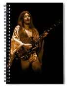 Mahogany Rush Seattle #1 Enhanced In Amber Spiral Notebook