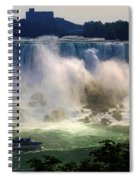 Maid Of The Mist Spiral Notebook