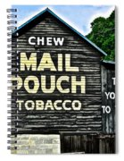 Mail Pouch Chew Spiral Notebook