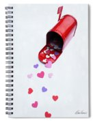 Mailing You Love Spiral Notebook