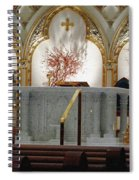 Main Altar Saint Jospehs Cathedral Buffalo New York Spiral Notebook