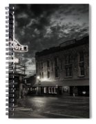 Main And Exchange Bw Spiral Notebook