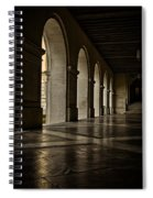 Main Building Arches University Of Texas Spiral Notebook