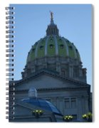 Main Dome Of The State Capital Spiral Notebook