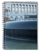 Main Fountain State Capital Spiral Notebook