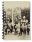 Main Street Disneyland Heirloom Spiral Notebook
