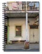 Main Street With Shops And Museum Spiral Notebook