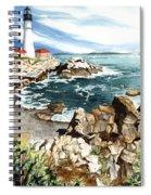 Maine Attraction Spiral Notebook