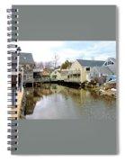 Maine Backwater Spiral Notebook