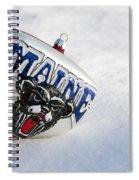 Maine Black Bears Ornament Spiral Notebook