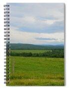 Maine Farmland Spiral Notebook