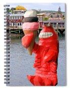 Maine Ice Cream Spiral Notebook
