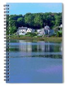 Maine Lakefront Spiral Notebook