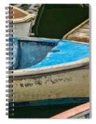 Maine Rowboats Spiral Notebook