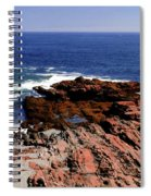 Maine Seascape Spiral Notebook
