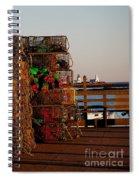 Maine Traps Spiral Notebook