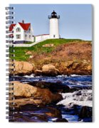 Maine's Nubble Light Spiral Notebook
