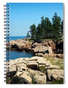 Maine's Rocky Coastline Spiral Notebook
