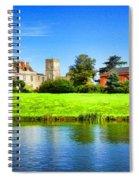 Maisemore Court And Church 2 Spiral Notebook