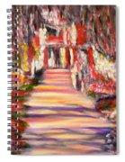 Majestic Garden Spiral Notebook