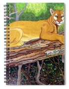 Majestic Hand Embroidery Spiral Notebook