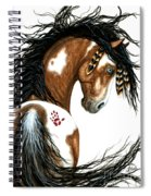 Majestic Horse #106 Spiral Notebook