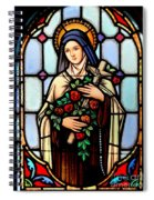 Majestic Mary Spiral Notebook
