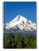 Majestic Mt. Hood Spiral Notebook