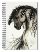 Majestic Mustang Horse Series #51 Spiral Notebook