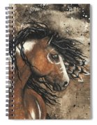 Majestic Mustang Series 61 Spiral Notebook