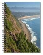Majestic Oregon View Spiral Notebook