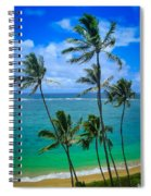 Majestic Palm Trees Spiral Notebook
