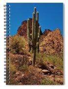 Majestic Saguaro Spiral Notebook