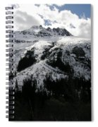 Majestic Skagway Mountaintop Spiral Notebook