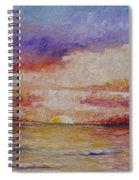 Majestic Sunset  Spiral Notebook