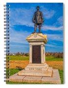 Major-general Doubleday Spiral Notebook