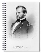Major General William T Sherman Spiral Notebook