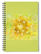 Make A Wish In Greenish Yellow Spiral Notebook