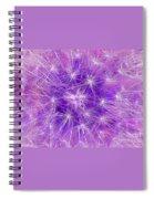 Make A Wish In Purple Spiral Notebook