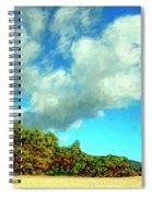 Makena Beach Maui Spiral Notebook