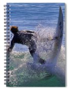 Making The Turn By Diana Sainz Spiral Notebook