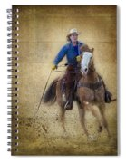 Making The Turn Spiral Notebook