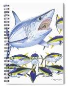 Mako Attack Spiral Notebook